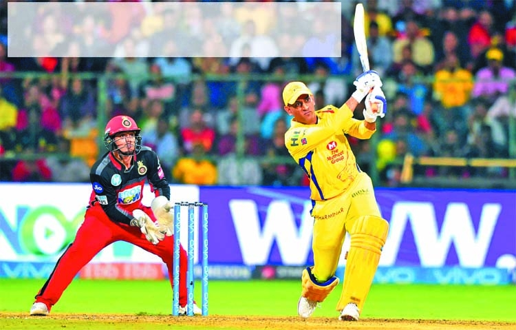 Dhoni drives Chennai to 5-wkt win over Bangalore in IPL