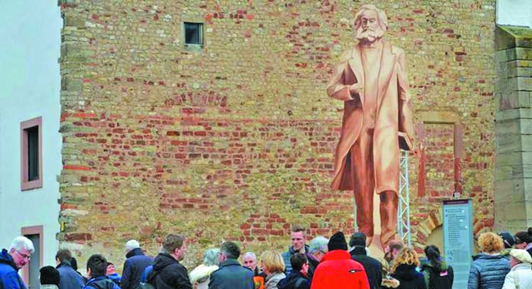 Celebrating 200th birthday of Karl Marx