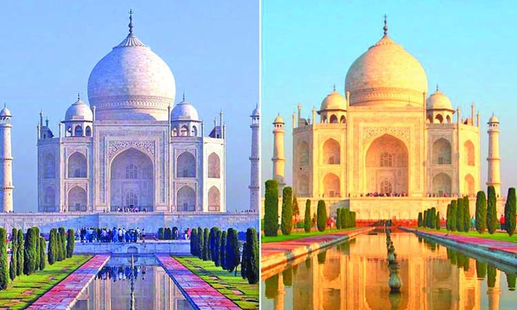Why Taj Mahal Turning Yellow The Asian Age Online