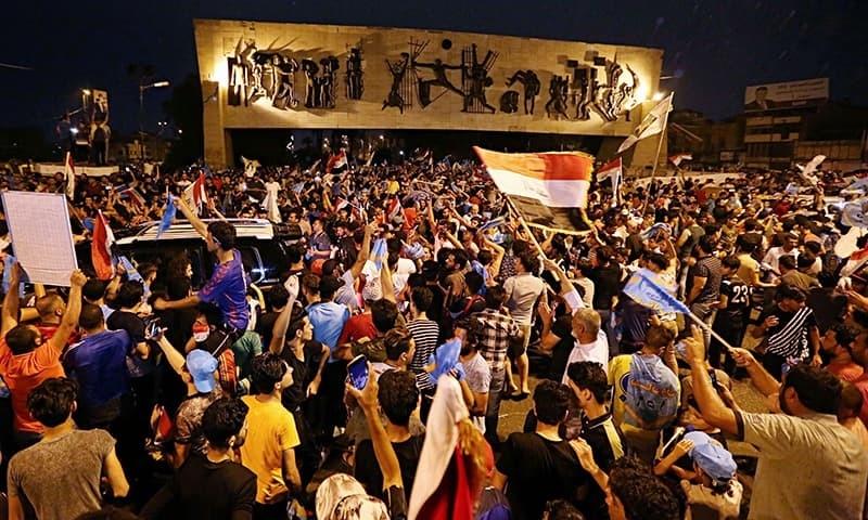 Shia cleric al-Sadr leads in Iraq's initial vote results