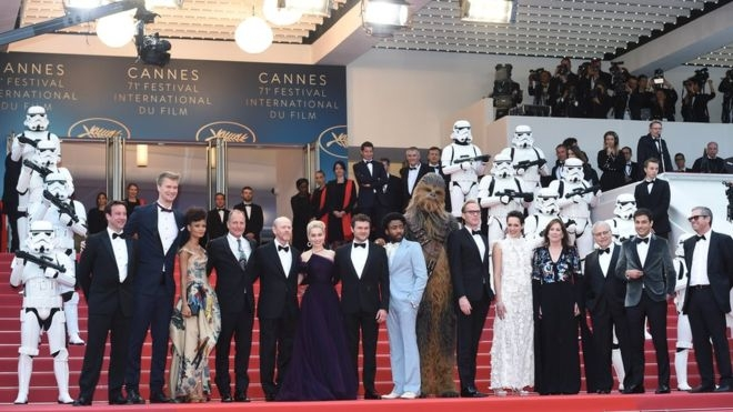 Solo film brings Star Wars to Cannes