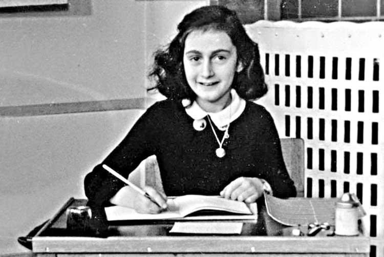 Anne Frank's dirty jokes uncovered