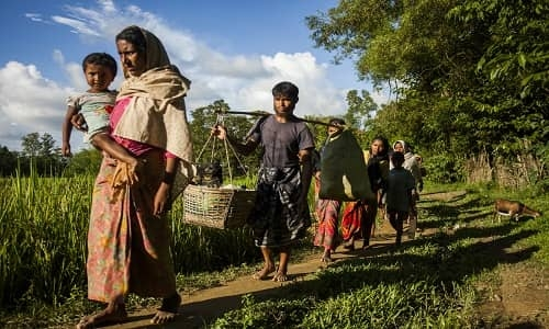 1 lakh Rohingyas to be relocated to Bhasanchar within 2 months: Secy