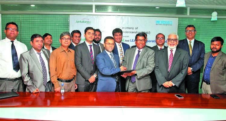 LankaBangla, LEADS Corporation sign MoU