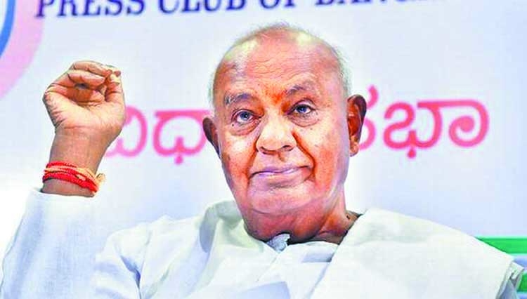 Anti-BJP alliance cannot work without Congress: Deve Gowda
