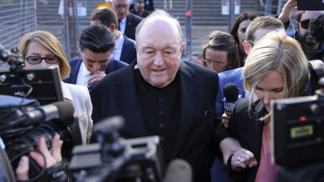 Archbishop to step down after conviction