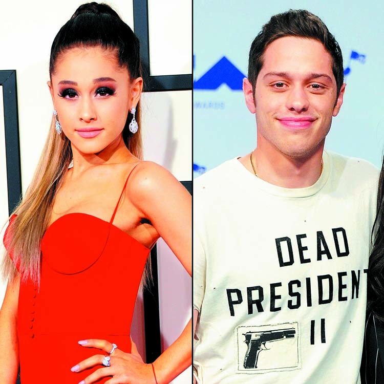 Ariana Grande and Pete Davidson are dating!