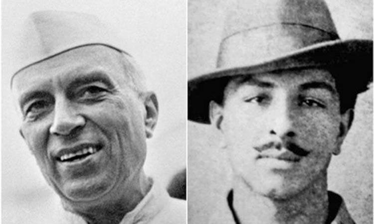 Is it politically relevant today to ask whether Nehru visited Bhagat Singh in jail?