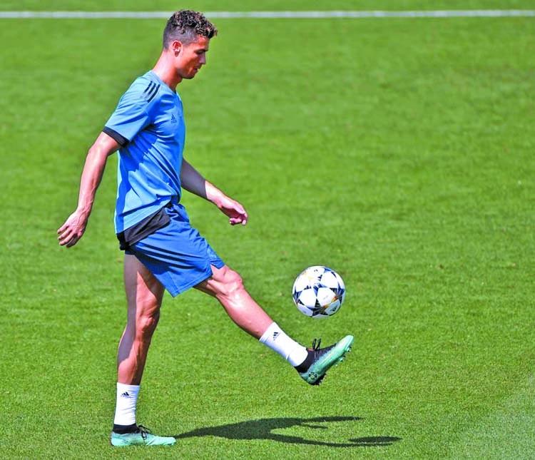 I have biological age of 23, says Ronaldo