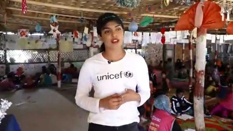 Priyanka calls for world's attention on Rohingya children