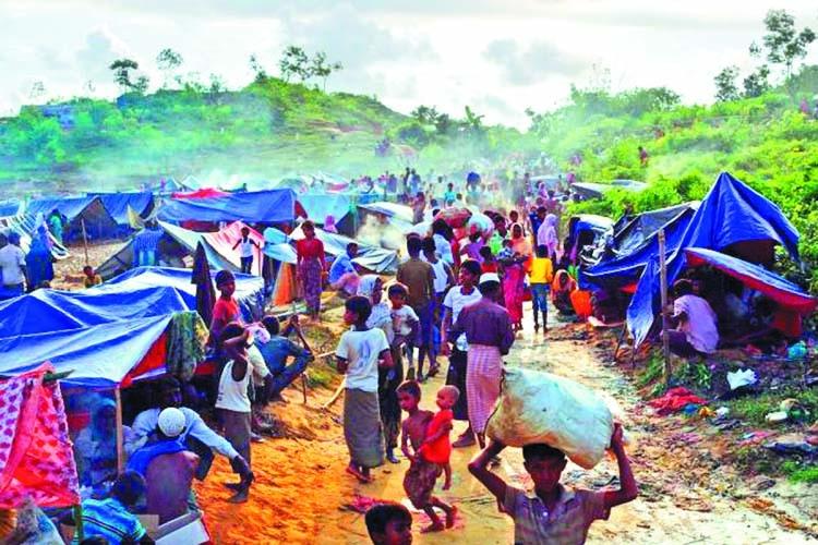 Landslides threaten Rohingya shelters: HRW
