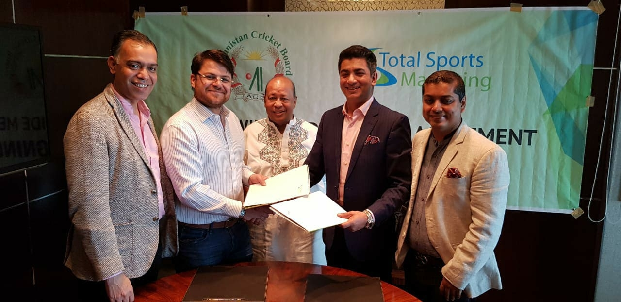 TSM gets Afgan cricket broadcasting rights