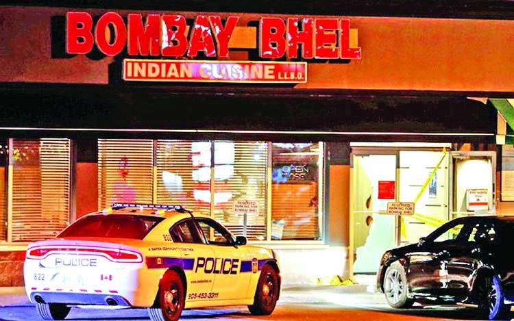 Blast in Canada restaurant