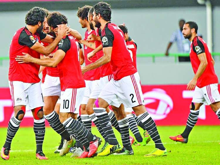Egypt get ball rolling as Africa prepare for World Cup
