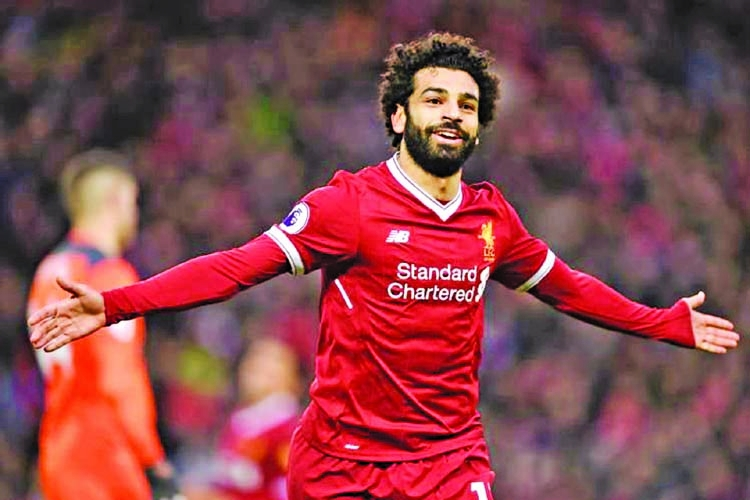I love Salah, he's like Messi, says Ronaldo