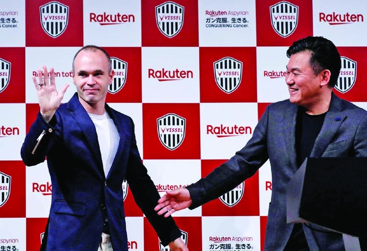 'Iniesta coup puts J League on the map'