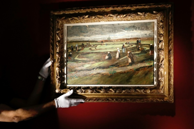 Van Gogh painting sells for over 7 million euros: Auction house