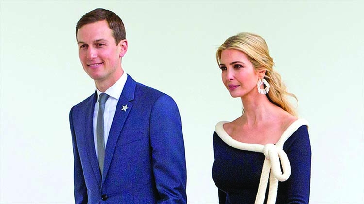 Ivanka, Kushner reveal vast wealth