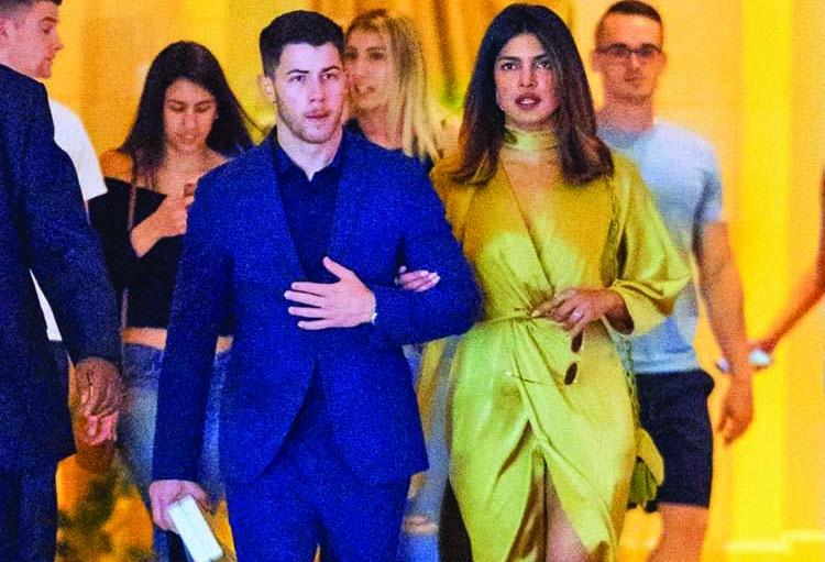 Priyanka, Nick attend a wedding hand in hand