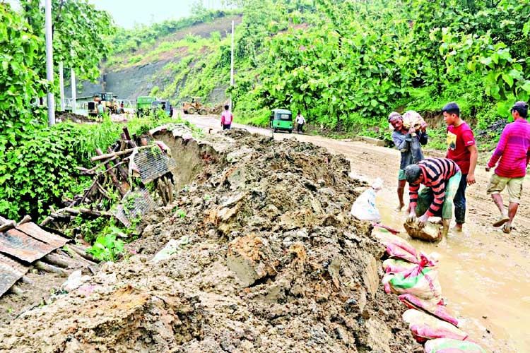 12 killed in Rangamati, Cox's Bazar landslides