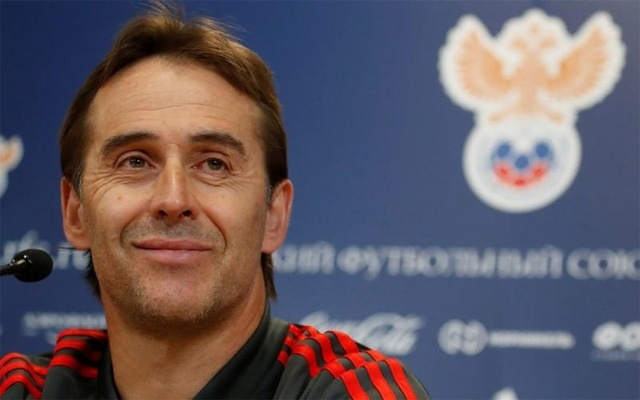 Spain sack head coach Julen Lopetegui