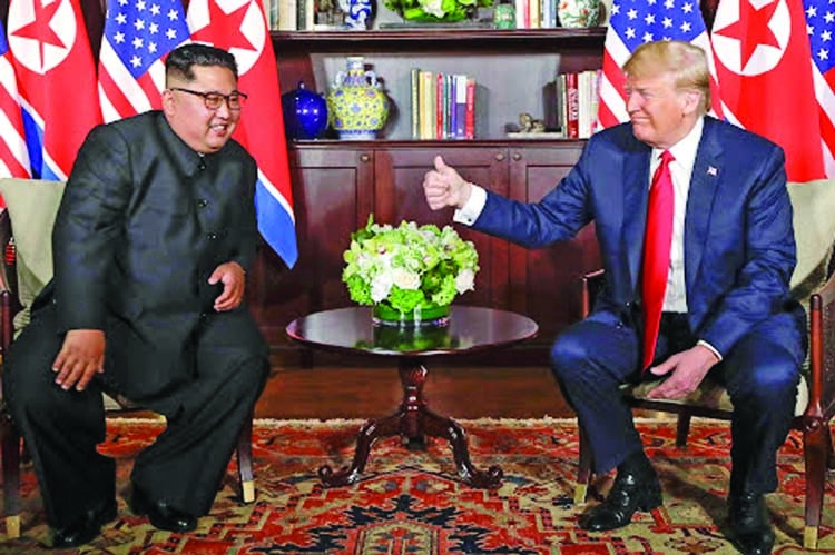 The road to Singapore: Kim and Trump summit