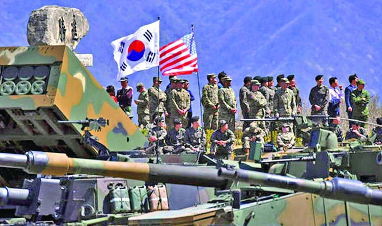 Japan warns US-South Korea drills vital