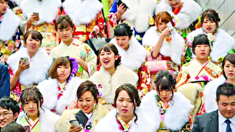 Why adults in Japan are getting younger