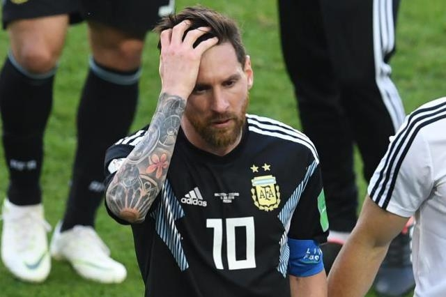 Argentina held by Iceland