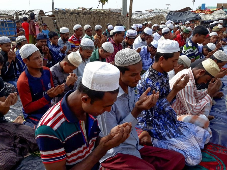 Rohingya refugees mark first Eid in Bangladesh camps