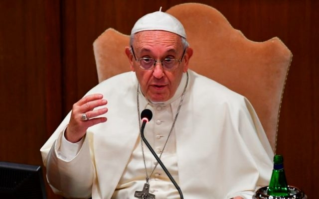 Abortion is similar to Nazi crimes: Pope Francis