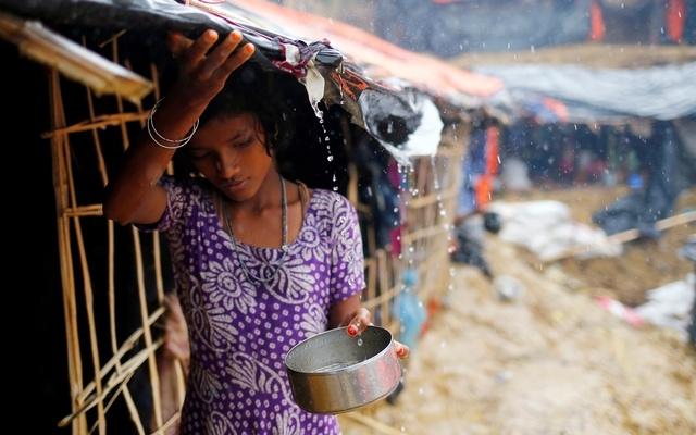 Rohingya girls dream of going school