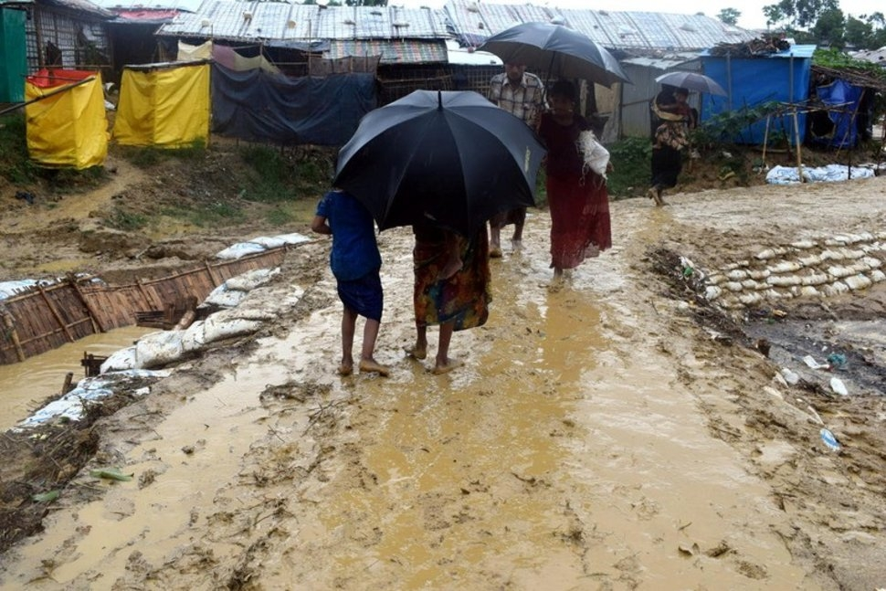 Struggle to protect Rohingyas ahead of monsoon
