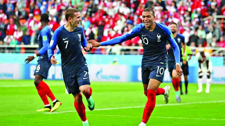 France beat Peru 1-0 to move to 2nd round in World Cup