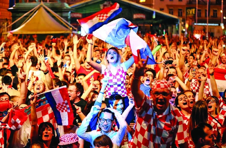 Croatian media hail 'fairytale' win over Argentina