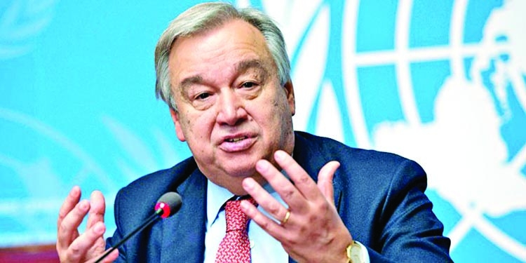 Guterres appeals for end to fighting in Syria