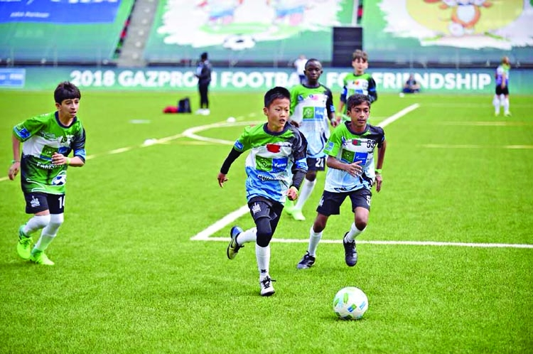 Bangladeshi kids shine at F4F program in Russia
