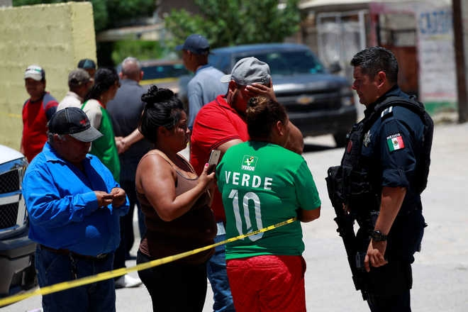 14 killed in Mexico shooting attacks