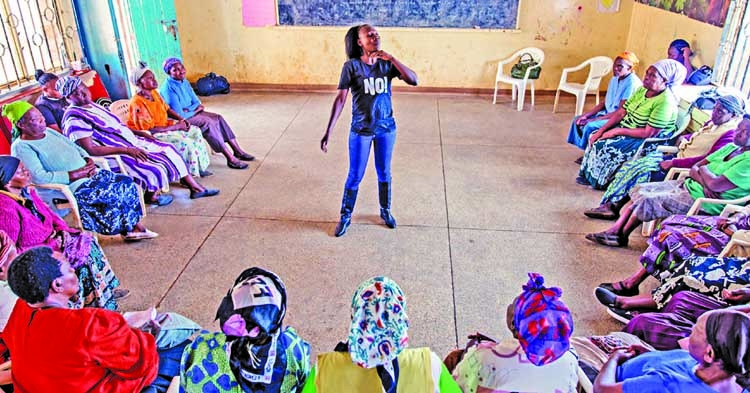 A worldwide teaching program to stop rape