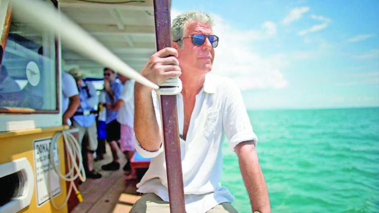 Travels with Anthony Bourdain