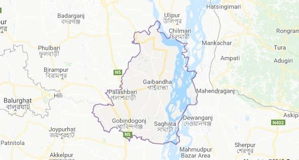 Brahmaputra rises further in Gaibandha