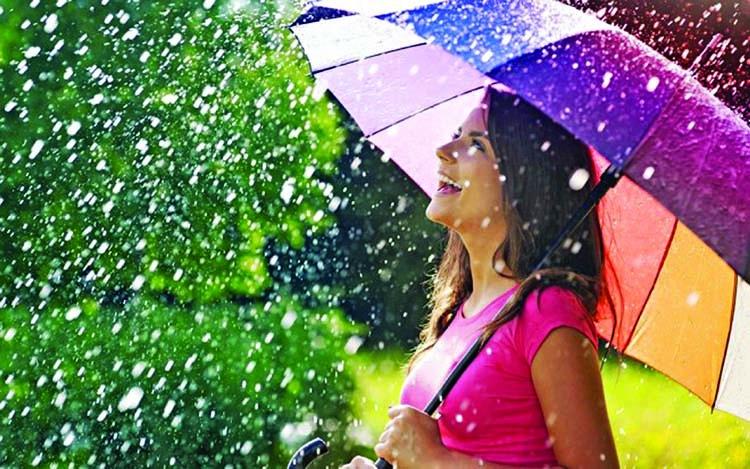 Make the best of the rainy season