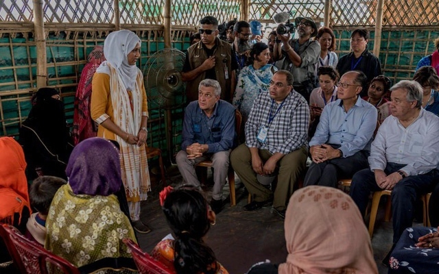 The world has failed Rohingya  refugees: Guterres