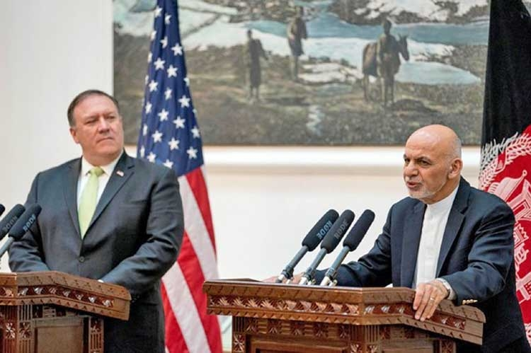 US wants review of Afghan strategy