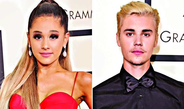 Ariana Grande defends her, Bieber's quick engagement