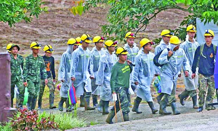 Thai cave rescue operation ends with all 12 boys safe