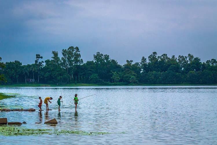 Lake in Dinajpur