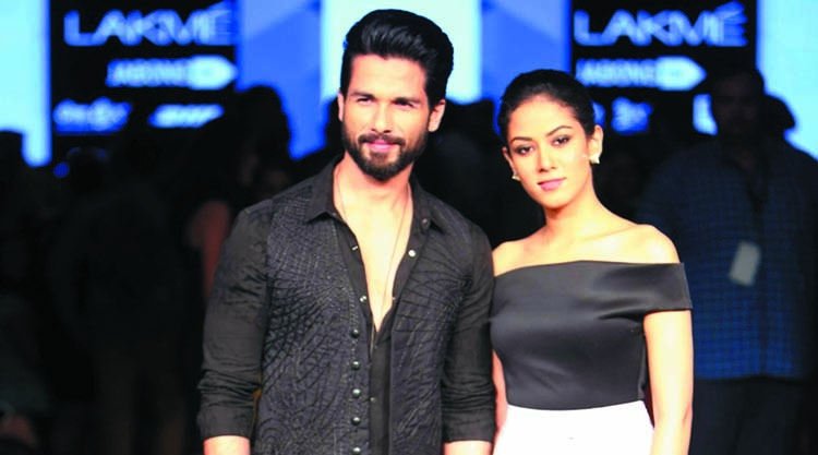 Shahid is smitten by Mira Rajput's acting debut