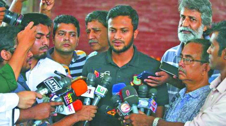 Shakib wants to be totally fit before Asia Cup