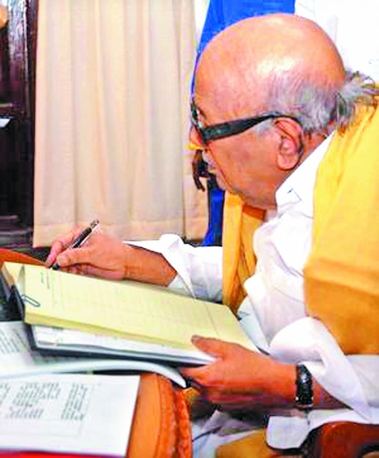 Karunanidhi and his love for fountain pen